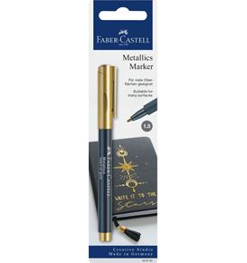 Faber-Castell - Metallics Marker, heart of gold