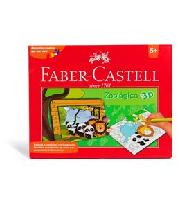 Faber-Castell - Set creativo Zoológico 3D