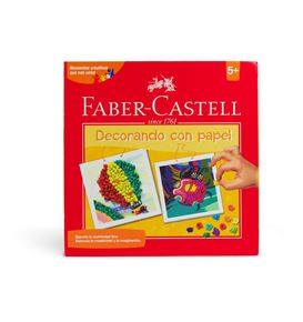 Faber-Castell - Set Creativo Decorando con Papel