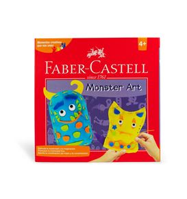 Faber-Castell - Set creativo Monster Art