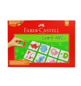 Faber-Castell - Set creativo Learn ABC