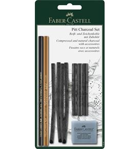 Faber-Castell - Juego Pitt Charcoal